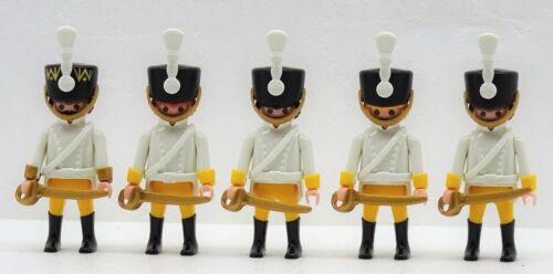 Officier Playmobil pour Garde Soldat contre Napoléon 03 4 X Autriche Hussard