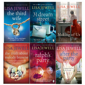 Lisa-Jewell-6-Books-Collection-Set-Series-2-Third-Wife-31-Dream-Street-PB-NEW