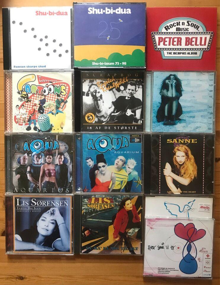 Div udenlandske og danske kunstner': Blandende albums
