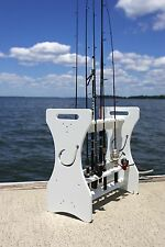 Fishing Rod Rack - Hook Cut-out Design