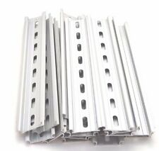 20 Pieces DIN Rail Slotted Aluminum RoHS 8 in. long 35mm 7.5mm 13.33 ft. Total