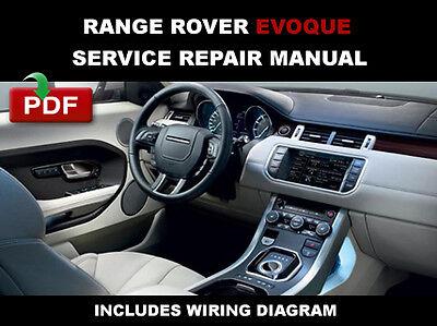 Land Rover Range Rover Sport 2012 2013 2014 Official factory workshop manual