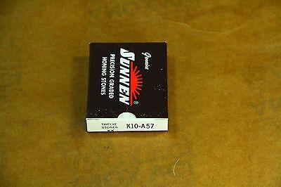 NEW BOX OF SUNNEN HONING STONES  {USA}  #K10 A57 12 STONES PER BOX.