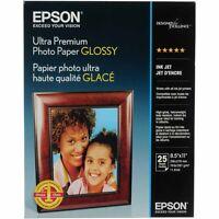 Epson Ultra Premium Glossy Photo Paper (l) 8.5x11 - 25 Sh