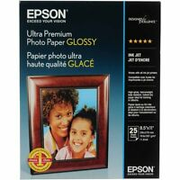 Epson Ultra Premium Glossy Photo Paper (l) 8.5x11 - 25 Sh