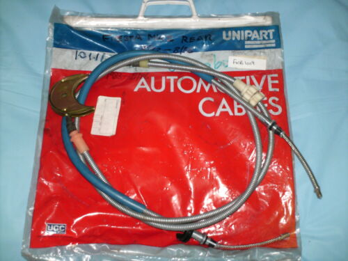FORD FIESTA MK2 1.0,1.1,1.3 /& 1.6 DIESEL ALL MODELS NEW REAR BRAKE CABLE 1983-86