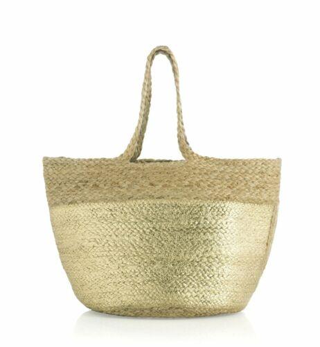 Einkaufen Tote Gold Shiraleah Shanti Jute Handtasche Bhmische Tasche fw1fUqZTa