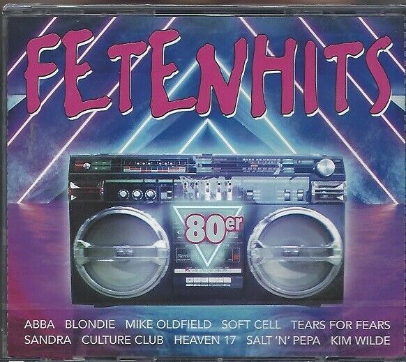 FETENHITS 80ER * NEW 3CD COMPILATION 2019 * VARIOUS ARTISTS * NEU *