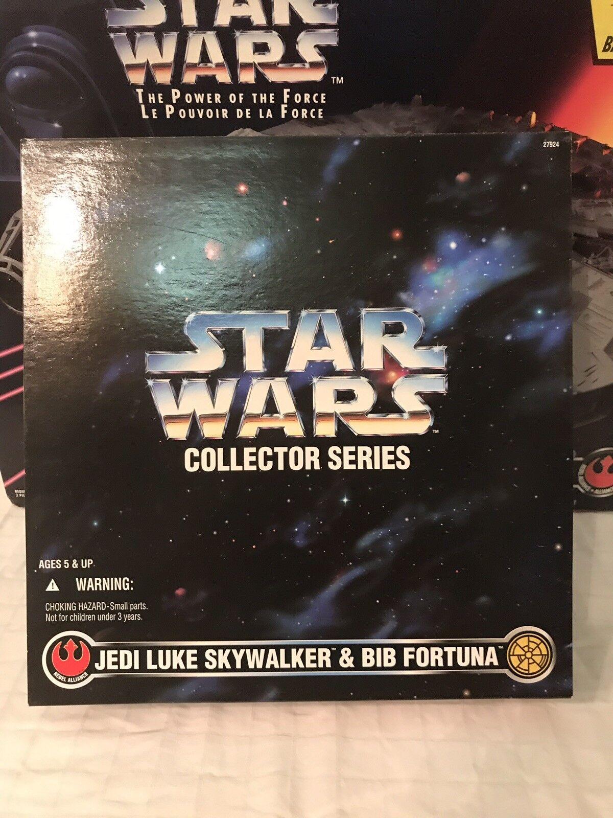 stjärnornas krig samlaor Series FAO svkonst Jedi Luke och Bib Fortuna bilgraferad