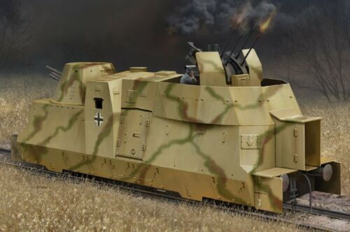 Kanonen Und Flakwagen of BP42 HBB82925 - Hobbyboss 1:72 German