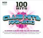 100 Hits: Club Hits 1991-2010 [Box] by Various Artists (CD, Jul-2010, 5 Discs, 100 Hits)