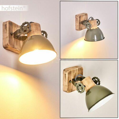 Flur Dielen Strahler Vintage Decken Leuchten Wohn Schlaf Zimmer Lampen grün//Holz
