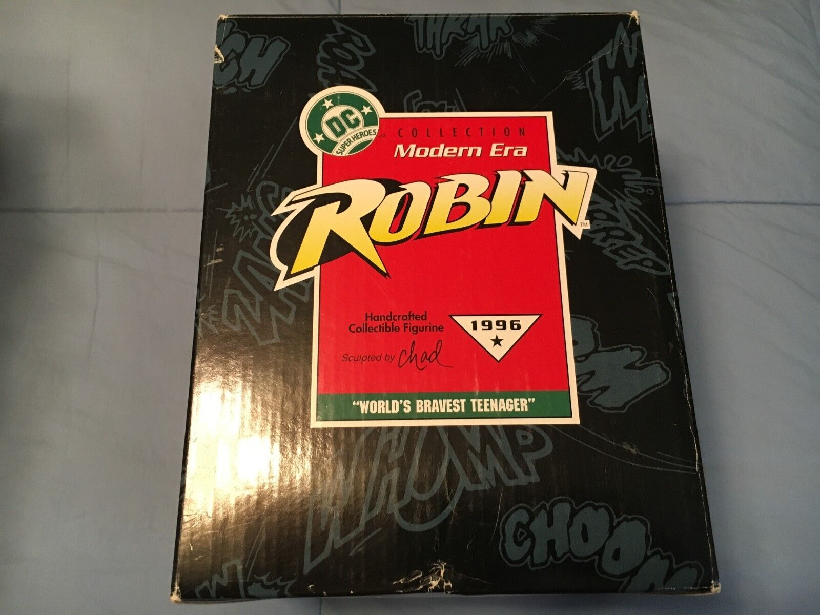 Kennzeichen der moderne robin 'dc 1996 -  weltweit mutigste teenager