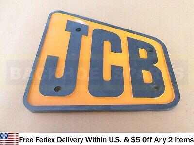 JCB PARTS ORIGINAL JCB BOOM LOGO PART NO. 817//04212