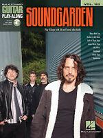 Soundgarden Sheet Music Guitar Play-along Book Audio Online 000138161