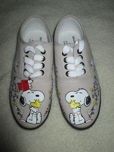 43b87c011b Image is loading Charles-Schultz-Snoopy-Shoes-New-Peanuts-Woodstock-Bradford -
