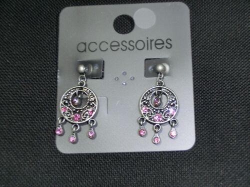 1 Paar Rose Ohrringe für Damen und Kinder SA40