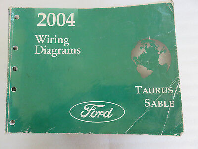 2004 Ford Taurus Sable Electrical Wiring Diagrams Service Manual Oem Workshop Ebay