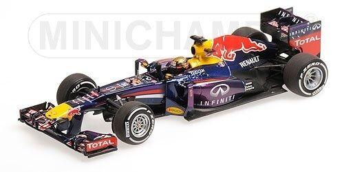 Red BULL rb9 Sebastian ciabatta WINNER GERMAN GP World Champion f1 2013 1:43 Model