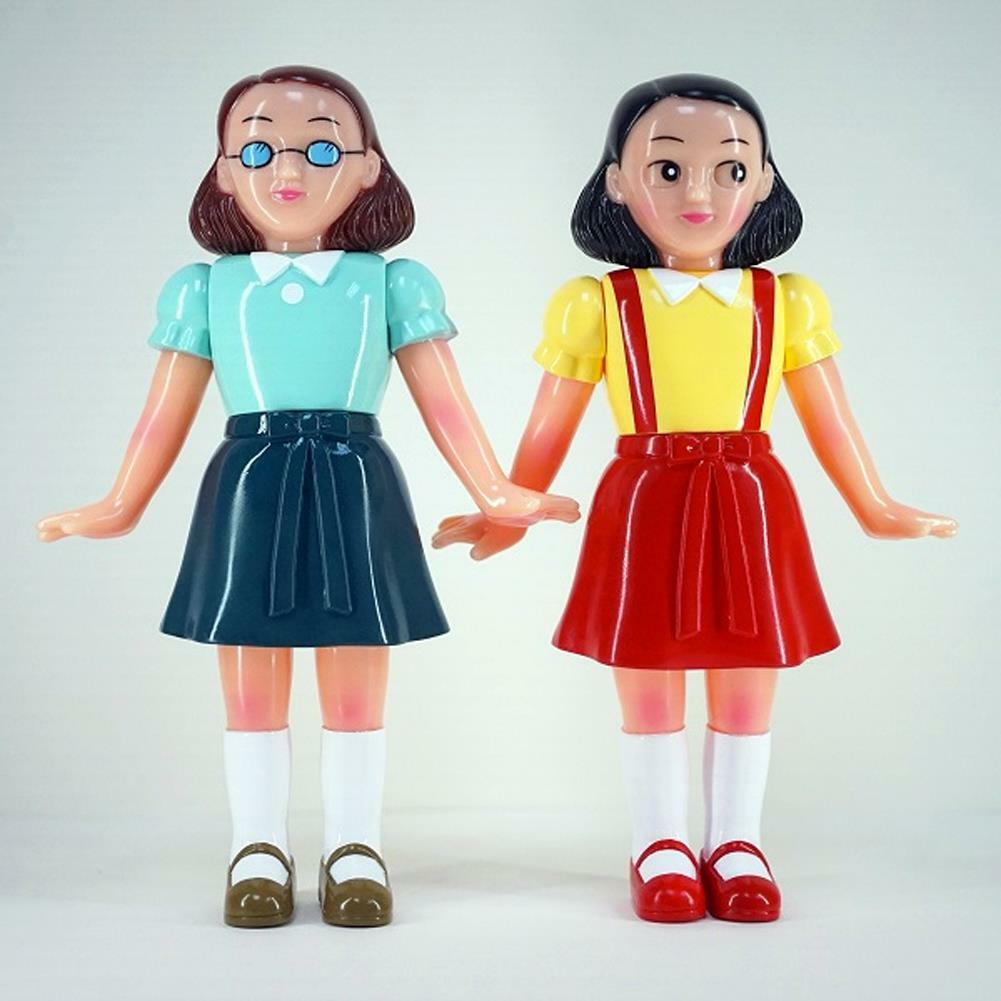 BFF TWINS SET SOFUBI SOFT VINYL FIGURE BY AWESOME TOY