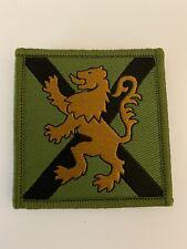 IR MTP UK Duke of Lancaster Regiment Tactical Recognition Flash Lion of England 2x3.5 Multicam Army Morale Tactical Patch