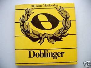 100-Jahre-Musikverlag-Doblinger-1876-1976-Wien