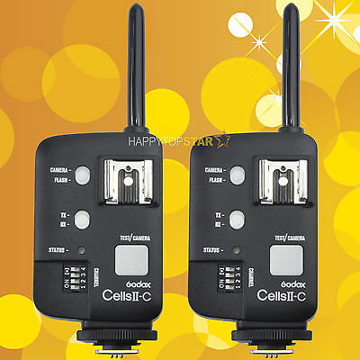 Godox Wireless Flash Transceiver Cells II for Canon High Speed Sync 1/8000 16CH