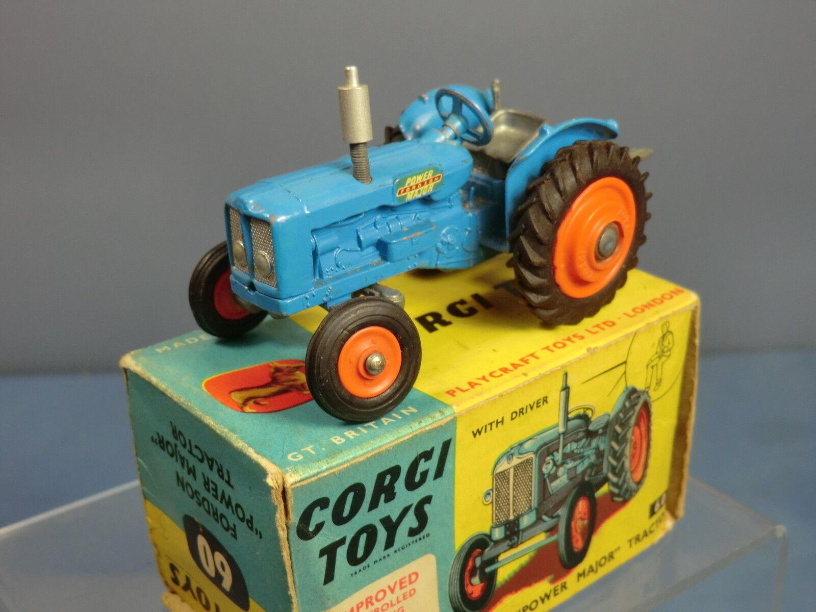 CORGI TOYS MODEL No.60   FORDSON 'POWER MAJOR' TRACTOR    MIB