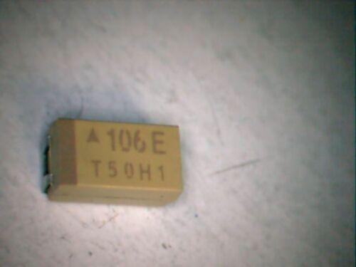 Lot of 10 tantalum capacitors cms cat c value to choice