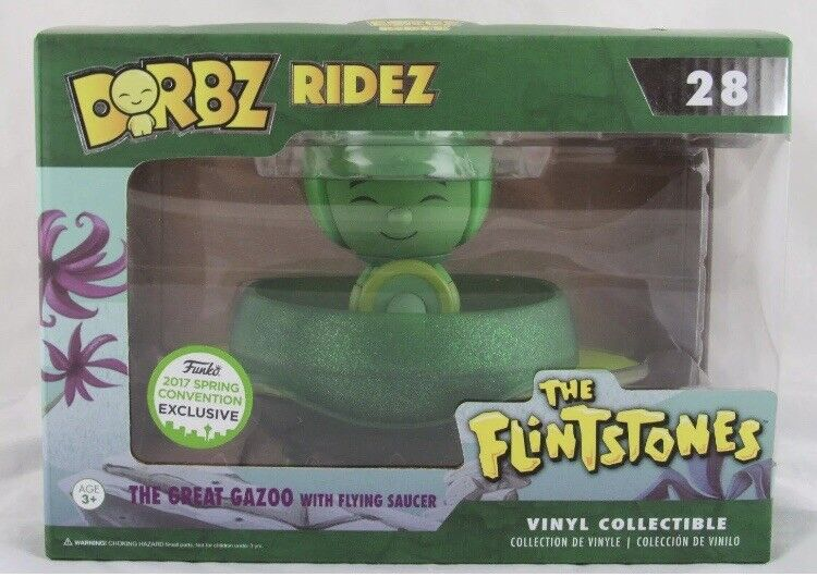 FUNKO DORBZ RIDEZ HANNA HANNA HANNA BARBERA THE FLINTSTONES THE GREAT GAZOO 2017 EXCLUSIVE dcfb62
