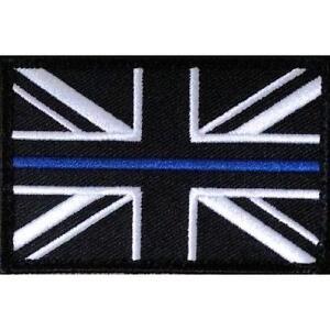 Thin Blue Line Police - Union Jack VELCRO® patch UK Badge insignia ... 05530233ed0