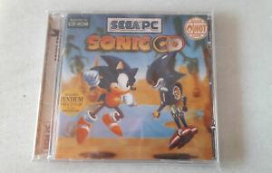 Sonic CD - SEGA PC CD-ROM - Con banda sonora japonesa