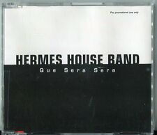 Hermes House Band  cd maxi PROMO - QUE SERA SERA  © 2001 - 4 tracks