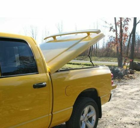 Jsp Rear Wing Truck Spoiler For Tonneau Cover Ram Style 64 X4 Inch Primed 333047 For Sale Online Ebay