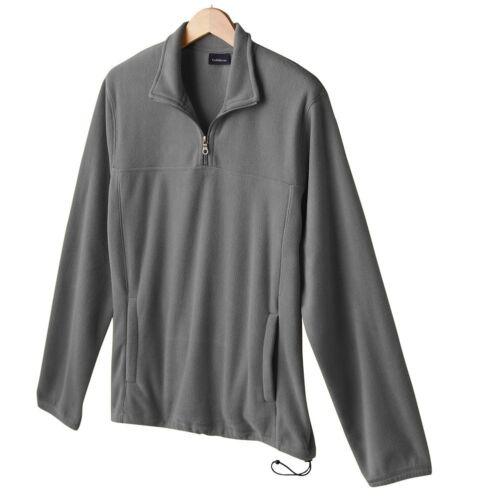 New Men's Croft /& Barrow 1//4-Zip Arctic Fleece Pullover Sweatshirt XLT MSRP $36