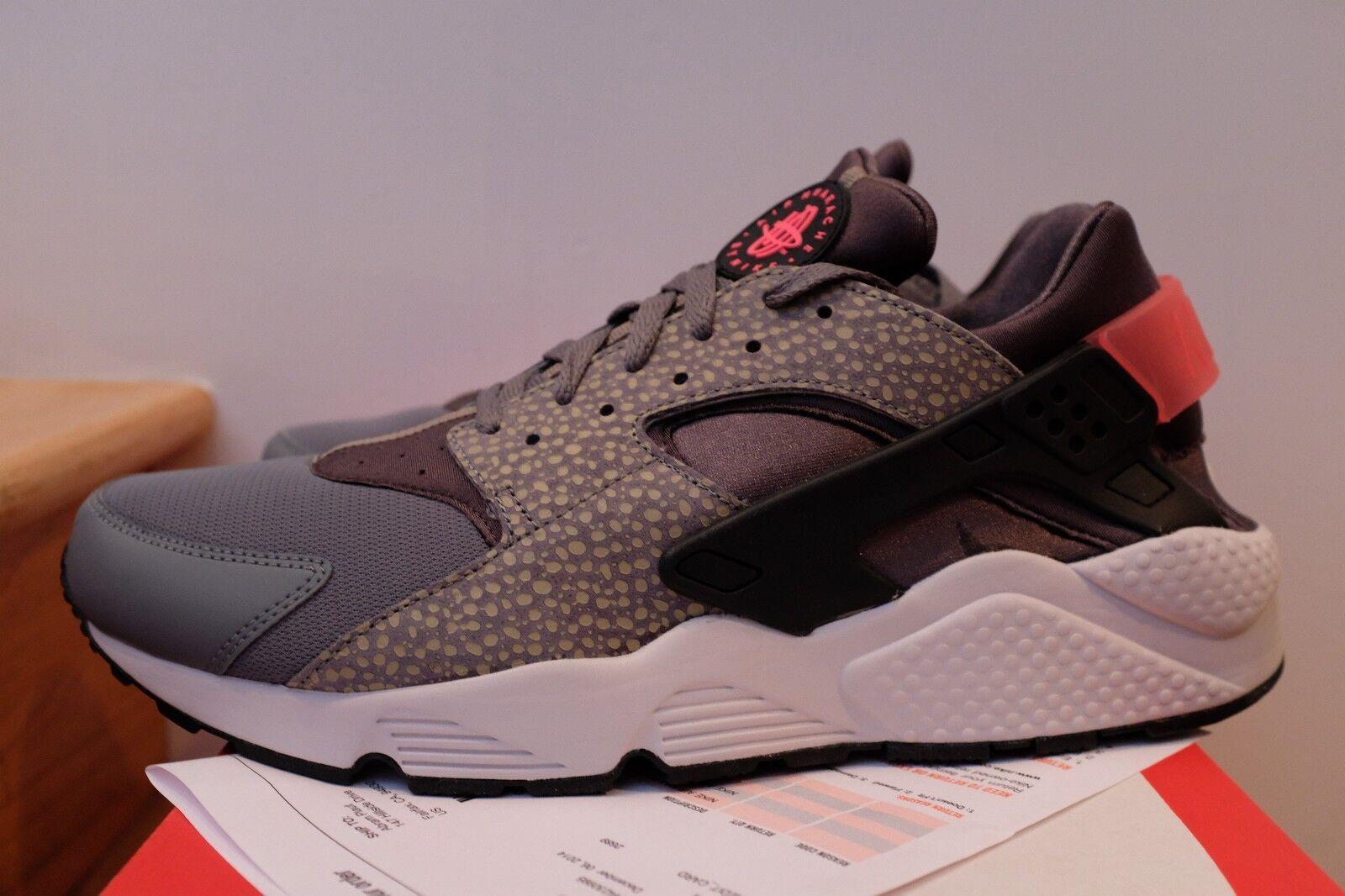 Nike air huarache correre premio safari grey punch taglia 14