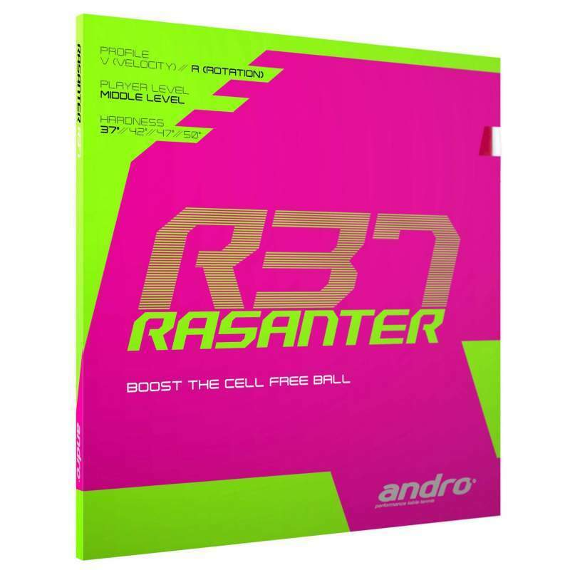 Andro Rasanter R37 Table tennis rubber UK official distributor Free P&P