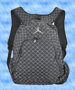 ae0528d407 Nike Air Jordan Jumpman 23 Backpack Black Grey Silver 9A1115 023 ...