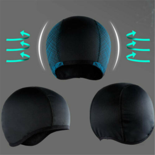 Moisture Wicking Cooling Skull Cap Helmet Liner Beanie Bald Caps Dome Hat 2019