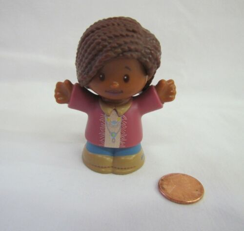 Fisher Price Little People AFRICAN AMERICAN MOM MOTHER WOMAN LADY Figure New