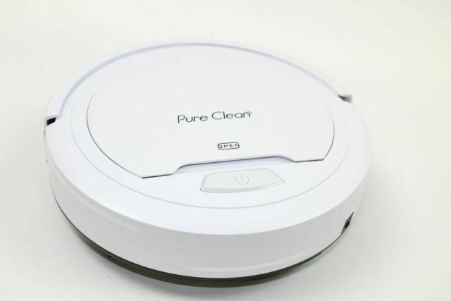 PURE CLEAN AZPUCRC25 Robot Vacuum Cleaner - Automatic Air Filter Pet Hair Allerg