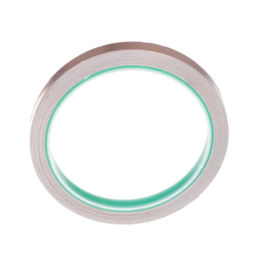 6mmx10m Copper foil shielding tape conductive self adhesive heat insulation LL