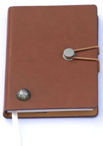 Football Notepad Memo Jotter Notebook Record Book Ideal Gift A6 Pocket Size 136