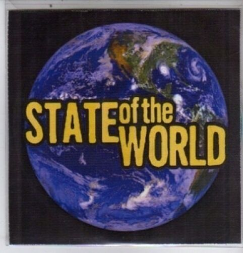 (DE555) State of the World, 13 tracks various artists - DJ CD