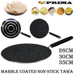 30cm NON STICK CREPE PAN DOSA TAWA ROTI  KITCHEN GRIDDLE PANCAKE CONCAVE BREAD