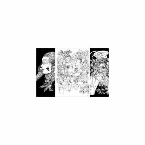 Katsuya Terada /& Kim Jung Gi Illustration Art Book