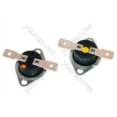 Genuine Indesit ISL60V Cut Out Thermostat Kit Tumble Dryer