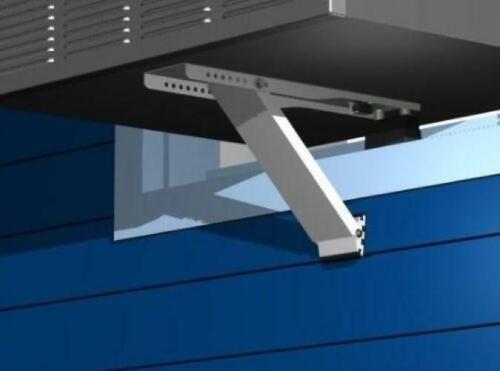 Universal Window Air Conditioner Bracket 1pc Heavy-Duty HEAVY DUTY-ONE ARM