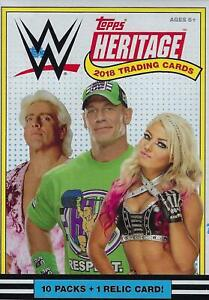 WWE-Topps-Heritage-2018-Base-Set-Singles-20-Off-3-Cards