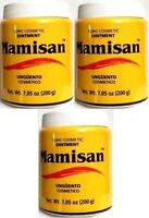 3x Topic Cosmetic Ointment Mamisan Balsam Unguento 7 Oz / 200 Plantimex 05/18